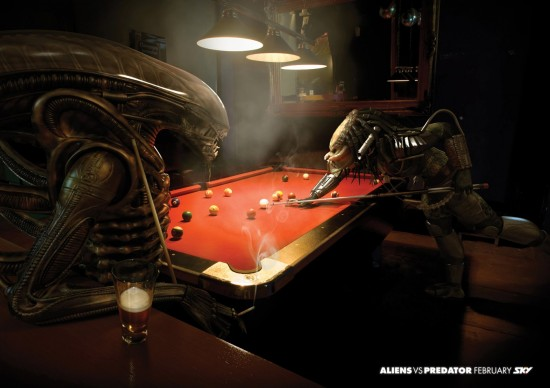 Alien vs. Predator Print Ads Are Better than the Movie Itself