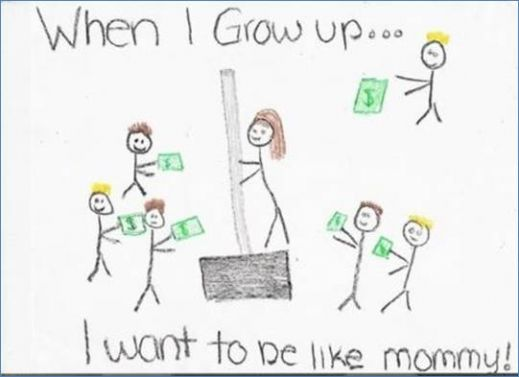 When I Grow Up...I Want to be Like Mommy